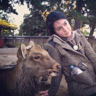 Me and a deer friend in Nara