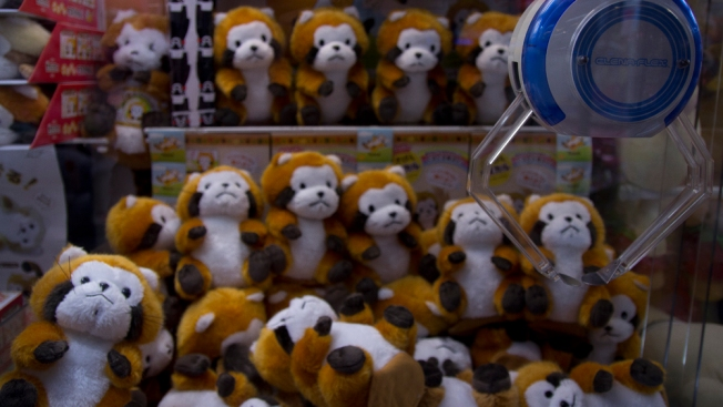 We ventured into an arcade and this crane machine was full of red panda plush toys. I exercised an impressive amount of restraint by not trying to win all of them, if we're being honest with ourselves. It's hard thing to walk away from.