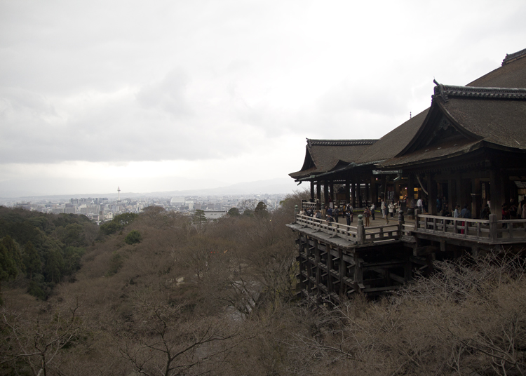 View of Kiyomizu-dera