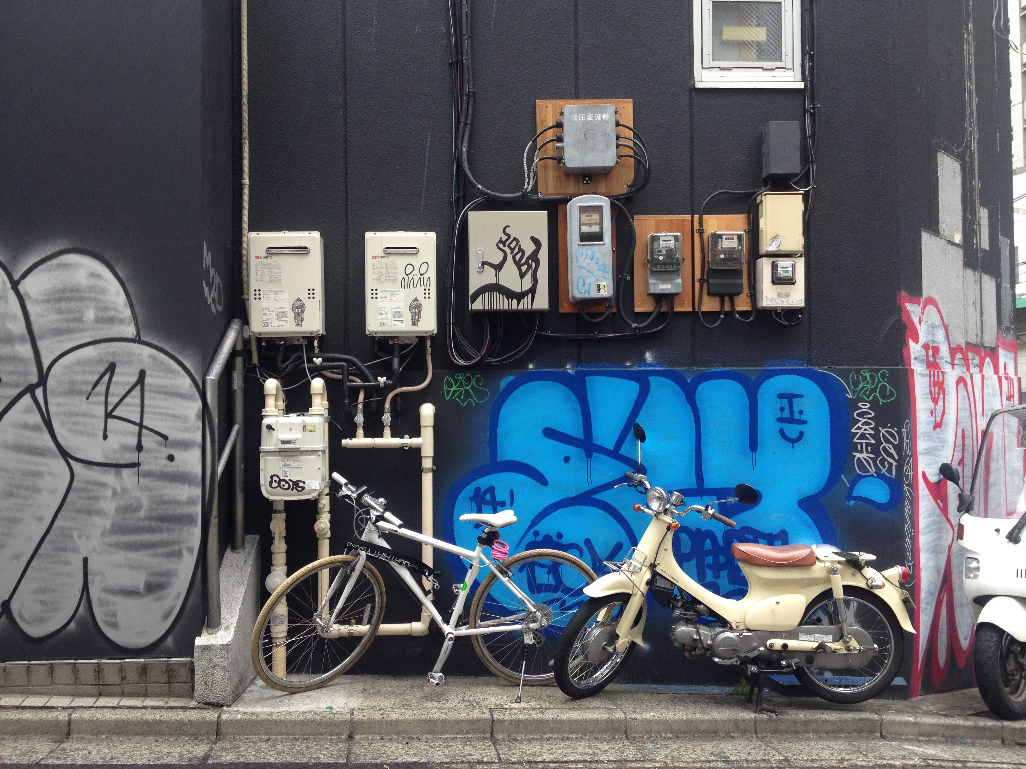 Graffiti wall tokyo - Img_0932