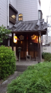 Hidden behind all the technology and streetlights, I found a more traditional side of Japan