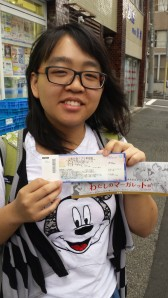 Study abroad student, Vivienne Shao, was able to get a ticket to the Ghibli Museum in Mitaka thanks to Loppi.