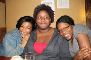 Students, Shanice, Jennifer, and Jordan have become a TUJ family and cherish their time together.