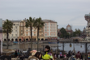 Disney Tokyo Resort is made up of two parks: DisneySea and Disneyland. Here is DisneySea, which is based off of the model of Walt Disney World Orlando's Epcot. This park does not feature all the countries of the world, and also incorporates many water rides.
