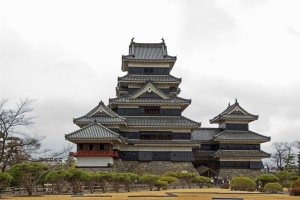 Here is our first stop: Matsumoto Castle. This is considered a cultural and historic landmark in Japan, and was breathtaking in person.