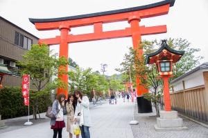One must see in Kyoto is the Fushimi Inari Shrine. This Shinto shrine specifically was made for the Inari-kami, hence it's name.