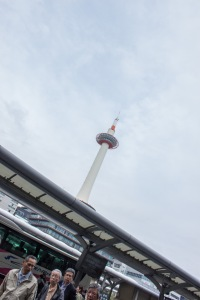 Kyoto Tower was greeting us right as we left Kyoto Station. This is not to be confused with Tokyo Tower in Tokyo.