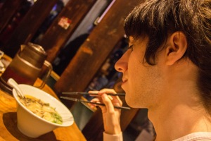 "Osaka is known for having some of the best food in all of Japan. ""The ramen's broth was so 'on point"""", commented Temple Japan student Carlos Casademont."