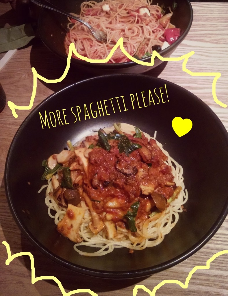 My favorite dish at Spagiro's (go mushrooms!!).