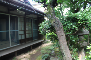 The traditional Japanese home used for the Traditional Arts Workshop located in Ogikuro, Tokyo Japan.