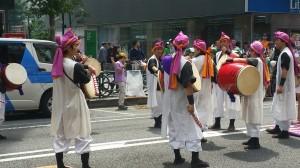 Festival performers in Shinjuku