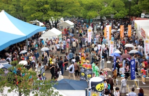 Yoyogi Park-Festival crowd-Michael Kent-TUJFL2015