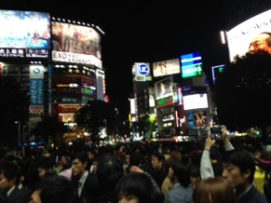 This picture does not show how crowded it was too well. It was so bad that it was difficult to walk!
