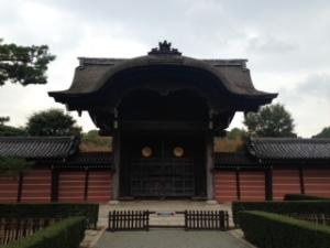 Zen Temple Gate