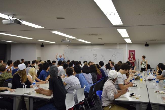 F16103_tokyo_new student orientation dinner Azabu Hall_TamlynKurata