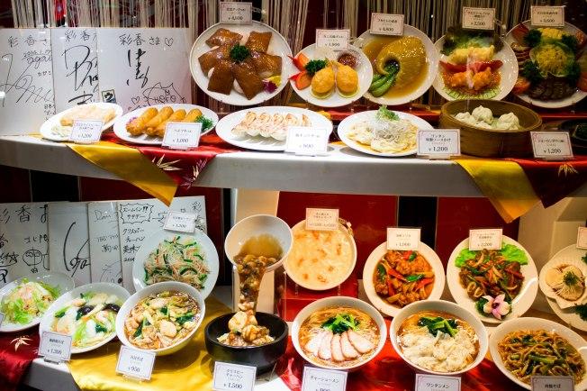 SP18709_Yokohama_ChineseFoodDisplay_KaylaAmador
