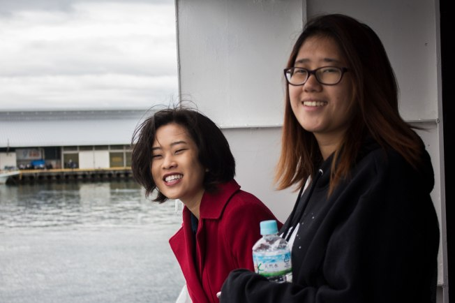 SP18910_Nuzamu_Students Enjoying the Ferry Ride_KaylaAmador